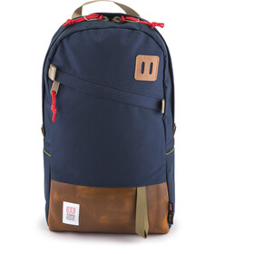 Topo Designs Daypack Leather, navy/leather